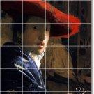 Vermeer Women Wall Mural Dining Tile Room Floor Modern Remodel