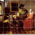 Vermeer Men Women Living Tile Room Murals Renovation Design House