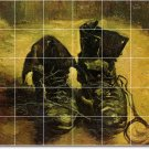 Van Gogh Still Life Dining Tile Mural Room Wall Modern Renovate
