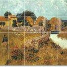 Van Gogh Country Mural Room Wall Wall Dining Renovate Interior