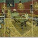 Van Gogh City Shower Murals Bathroom Tile Home Decorating Idea