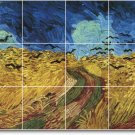 Van Gogh Country Wall Tiles Mural Room Living Art Home Remodel