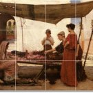 Waterhouse Historical Mural Room Tiles Wall Commercial Renovate