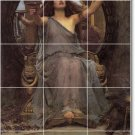 Waterhouse Mythology Tiles Mural Kitchen Remodeling Modern House