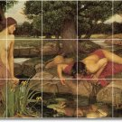 Waterhouse Mythology Bathroom Shower Wall Mural Home Decor Decor