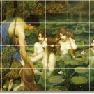 Waterhouse Mythology Bathroom Shower Mural Wall Home Decor Decor