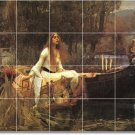 Waterhouse Mythology Bathroom Mural Wall Shower Decor Decor Home