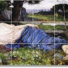 Waterhouse Mythology Dining Room Mural Tiles House Remodel Decor