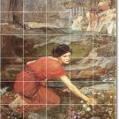 Waterhouse Women Dining Tile Room Wall Mural Remodeling Design