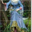 Waterhouse Women Mural Shower Bathroom Tile Wall Remodel Floor