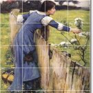 Waterhouse Garden Floor Mural Kitchen Construction House Decorate