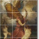 Watts Mythology Backsplash Tile Kitchen Wall Mural Commercial