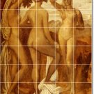 Watts Nudes Living Murals Room Wall Interior Traditional Renovate