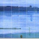 Whistler Waterfront Tiles Mural Kitchen Remodeling Modern House
