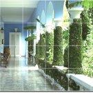 Architecture Picture Bathroom Wall Shower Mural Decor Home Decor