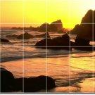 Beach Photo Dining Tile Room Mural Ideas Decor House Renovations