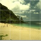 Beach Image Wall Bathroom Murals Wall Decorate House Traditional