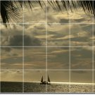 Beach Picture Tiles Wall Mural Mural Room Idea Decorating House