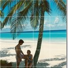 Beach Picture Murals Wall Living Wall Room Decor Interior Decor