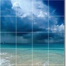 Beach Image Backsplash Wall Tile Kitchen Mural House Decor Decor