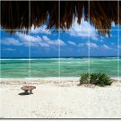 Beach Photo Backsplash Wall Tile Mural Kitchen Decor House Decor