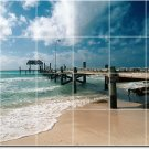 Beach Photo Tile Wall Mural Kitchen Backsplash Decor Home Design