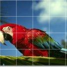 Birds Photo Wall Kitchen Backsplash Tile Mural Modern Remodeling