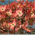 Flowers Photo Tile Wall Mural Shower Traditional Renovate Home