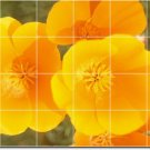 Flowers Picture Murals Tile Kitchen Home Renovation Traditional