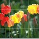 Flowers Image Mural Shower Commercial Idea Design Construction