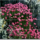 Flowers Picture Tiles Mural Room Living Interior Ideas Renovate