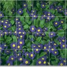 Flowers Photo Tile Kitchen Mural Renovations Decorate Interior