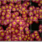 Flowers Photo Bedroom Mural Wall Tiles Mural Decor Floor Modern