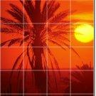 Sunsets Picture Kitchen Tiles Backsplash Mural Remodel Art Home