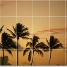 Tropical Image Wall Backsplash Tile Idea Residential Construction