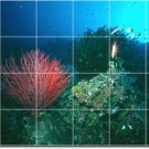 Underwater Picture Backsplash Wall Mural Interior Design Modern