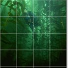 Underwater Photo Living Mural Wall Room Tiles Remodel Decor Home