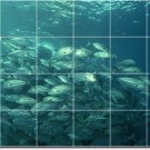 Underwater Photo Tiles Floor Bedroom Mural Interior Design Decor