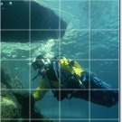 Underwater Photo Mural Floor Room Tiles Remodeling Design House