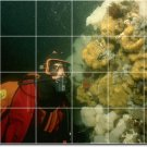 Underwater Photo Mural Tiles Room Floor Design Remodeling House