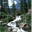 Waterfalls Picture Room Wall Mural Dining Home Renovations Idea