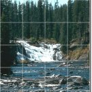 Waterfalls Picture Mural Dining Room Wall Renovate Design House