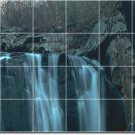 Waterfalls Picture Wall Shower Tiles Interior Renovations Ideas