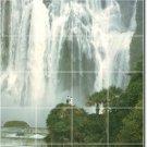 Waterfalls Picture Kitchen Tiles Mural Floor Home Modern Decor