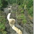 Waterfalls Image Tile Murals Shower Wall Residential Remodeling