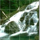 Waterfalls Picture Mural Tiles Floor Kitchen Decor House Decor