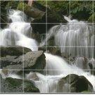 Waterfalls Image Mural Wall Backsplash Kitchen Decor Floor Decor