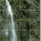 Waterfalls Picture Mural Floor Tiles Bedroom Home Decor Design