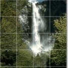 Waterfalls Photo Tiles Room Dining Design Home Construction Idea