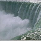 Waterfalls Picture Dining Tile Mural Room Wall Modern Renovate